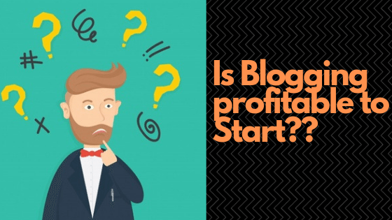 is blogging profit