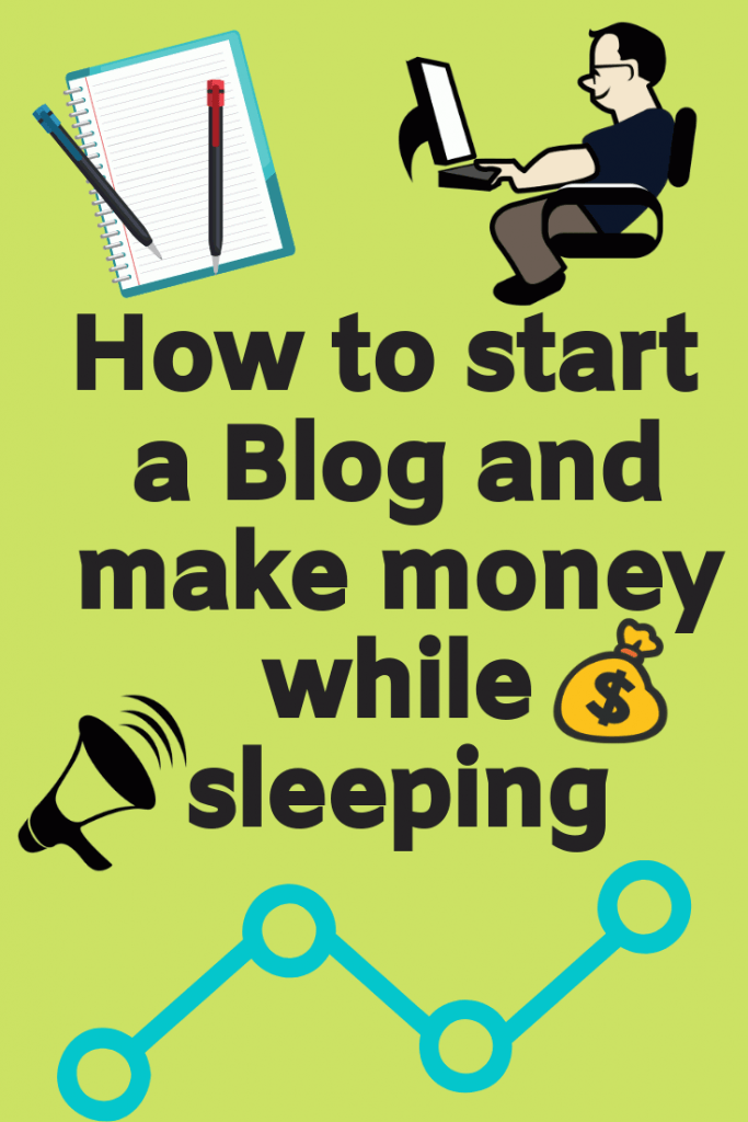 how to start a blog make money