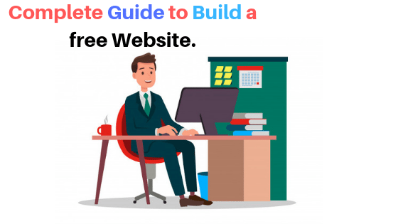 How to create a website free of cost