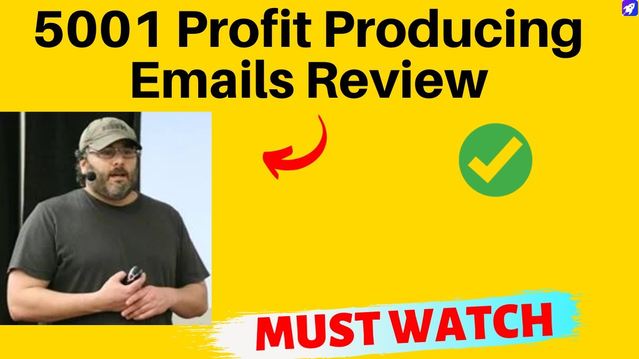 5001 profit producing emails