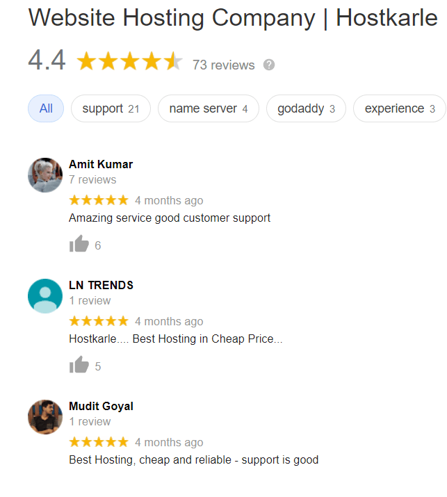 hostkarle user review