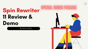 Spin Rewriter 12 Review & Demo: World's No1 Content Spinner Tool. 97